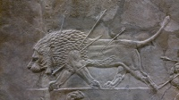 t-Assyrian lion hunt